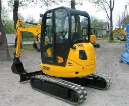 JCB 8025Z, 8030Z, 8035Z Excavator