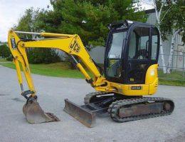 JCB 8027Z, 8032Z Excavator