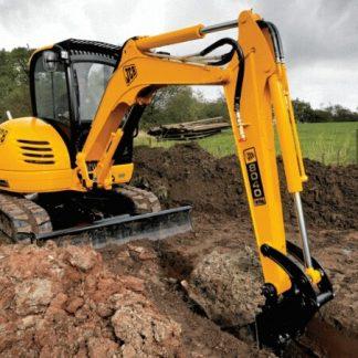 JCB 8040, 8045, 8050, 8055 ZTS/RTS Excavator