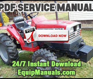 MF 1125, 1140, 1145, 1240, 1250, 1260 Tractor