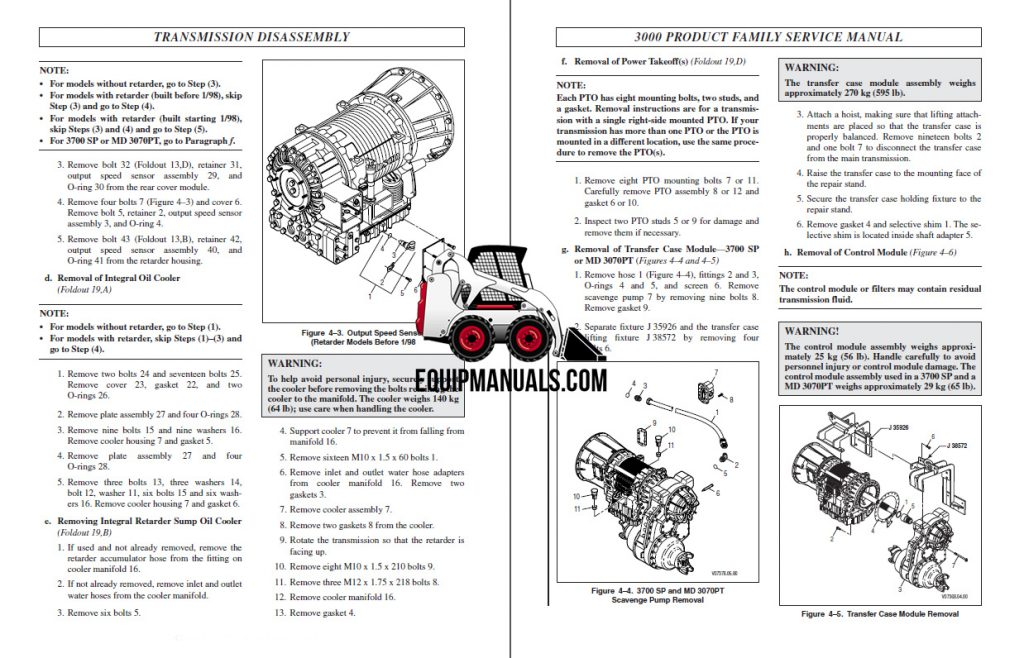 Allison 3000 Series Transmission Service Manual