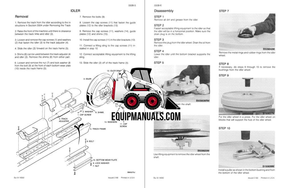 Case 650 Crawler Dozer Repair Service Manual