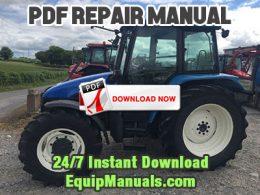 New Holland TL70, TL80, TL90, TL100 Tractor