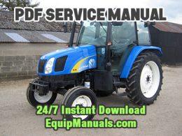 New Holland TL80A, TL90A, TL100A Tractor