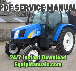 New Holland TL80A, TL90A, TL100A Tractor