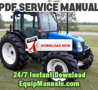New Holland TNDA, TNSA Tractor