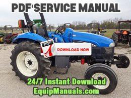 New Holland TT55, TT75 Tractor