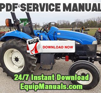 New Holland TT55, TT75 Tractor
