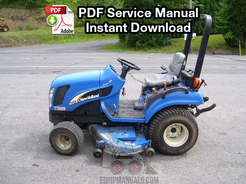 New Holland Tractor Manuals : New holland tz da tractor repair
