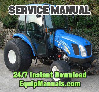 New Holland TC35A, TC35DA, TC40A, TC40DA, TC45A, TC45DA Tractor