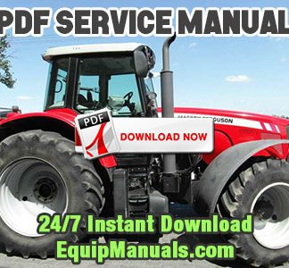 Massey Ferguson 7465, 7475, 7480, 7485, 7490, 7495 Tractor