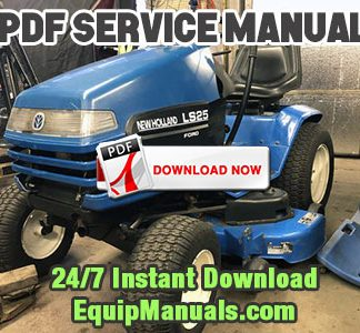 New Holland LS25, LS35, LS45, LS55 Tractor