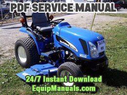 New Holland TC21DA, TC24DA Tractor