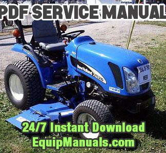 New Holland TC21DA, TC24DA Tractor