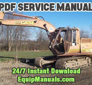Case 9010 Excavator