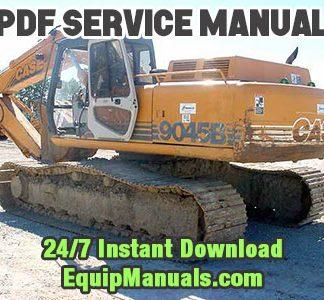Case 9045B Excavator