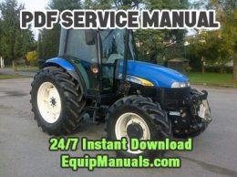 New Holland TD5030, TD5040, TD5050 Tractor