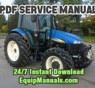 New Holland TD5030, TD5040, TD5050 Tractor