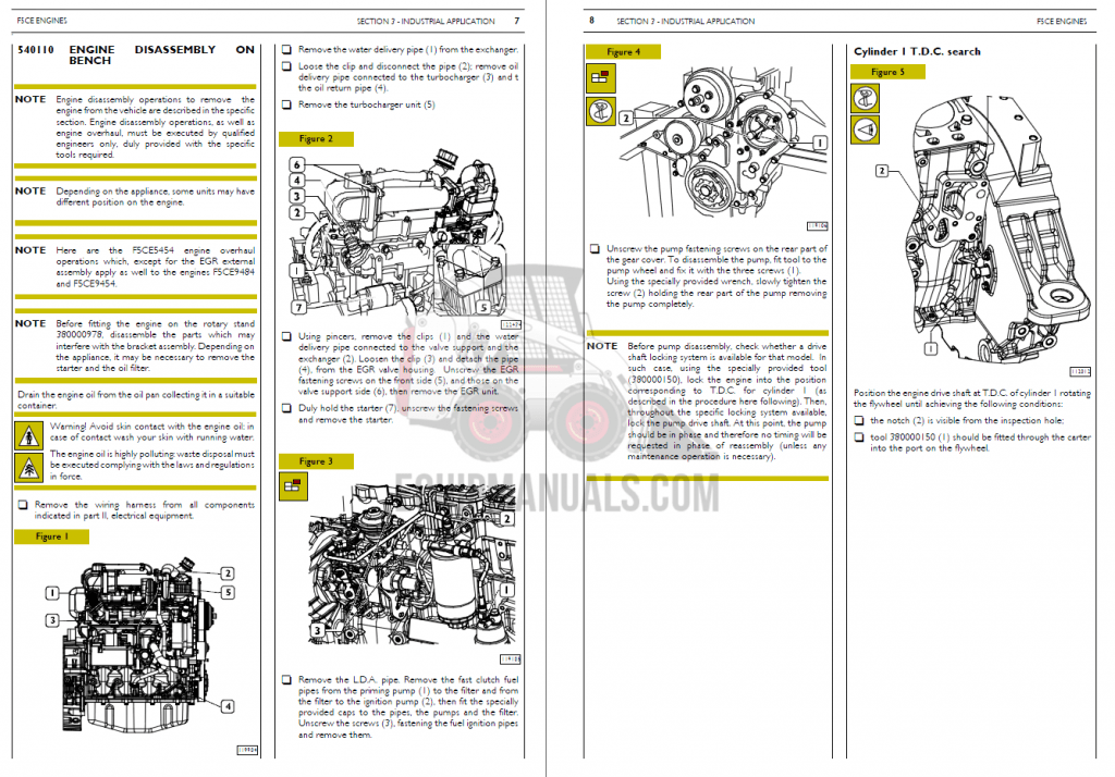 Case CNH Engine Repair Manual PDF Download