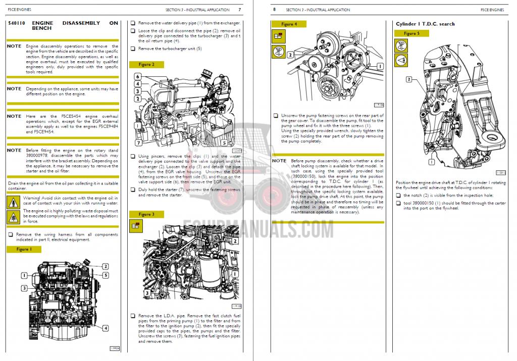 Case CNH Engine Repair Manual PDF Download