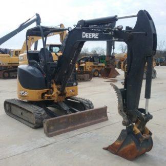 John Deere 35D, 50D Excavator