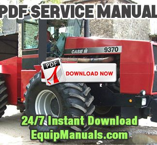 Case IH 9370, 9380, 9390 Tractor