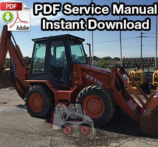 Fiat Allis FT110 Backhoe