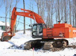 Hitachi Zaxis 450, 450LC, 450H, 450LCH Excavator