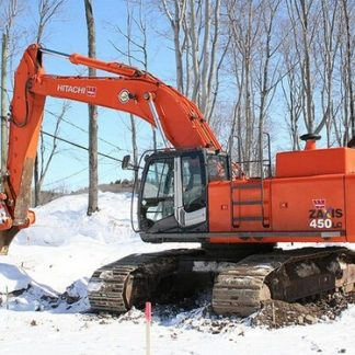 Hitachi Zaxis 450, 450LC, 450H, 450LCH Excavator