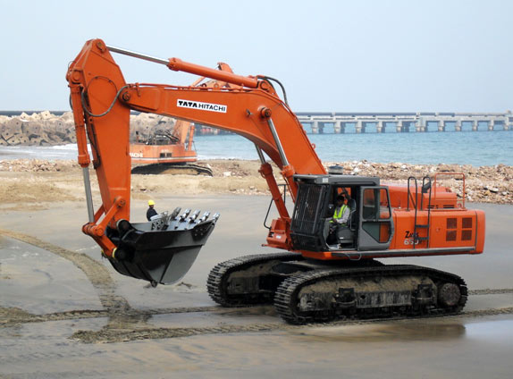 Hitachi Zaxis 600, 600LC, 650H, 650LCH Excavator Complete Service Manual - EquipManuals.com