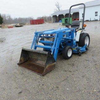 Ford New Holland 7106 loader