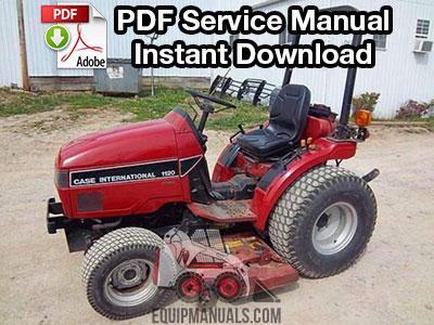 Case IH 1120, 1130, 1140 Tractor Service ManualEquipManuals