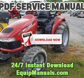 Case IH D35, DX35, D40, DX40, D45, DX45 Tractor