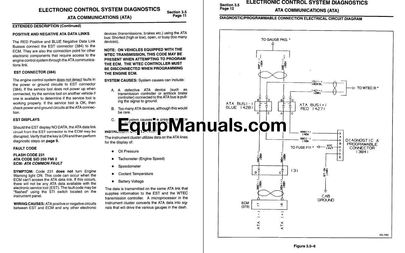1995-1997 International DT466E, DT530E Troubleshooting Manual
