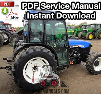 New Holland TN65F, TN70F, TN75F, TN80F, TN90F, TN95F Tractor