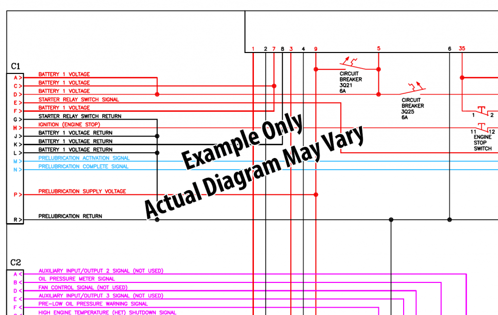 Cat Challenger 35  45  55 Tractor Hydraulic   Wiring Diagram