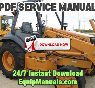 Case 570LXT Series 2 Loader Landscaper
