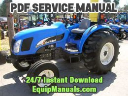 New Holland TC48DA, TC55DA Tractor