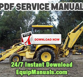New Holland LB75 Backhoe