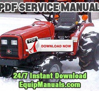 Massey Ferguson 1233, ST30X Tractor