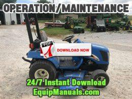 New Holland TZ18DA, TZ22DA, TZ25DA Tractor