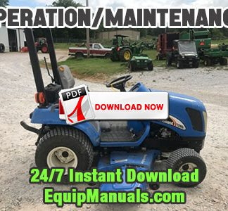 New Holland TZ18DA, TZ22DA, TZ25DA Tractor