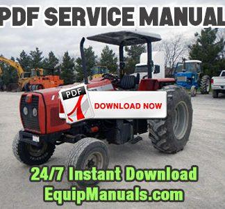 Massey Ferguson 573, 583, 593, 596 Tractor
