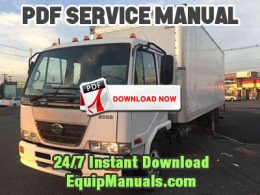 1999-2003 Nissan UD1800HD, UD2000, UD2300, UD2600, UD3000 Truck