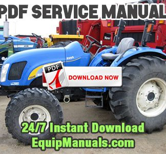 New Holland T2410, T2420 Tractor