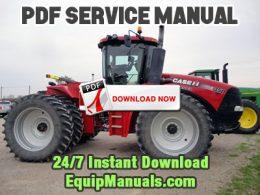 Case IH Steiger 350, 400, 450, 500, 550, 600 Tractor