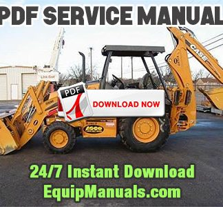 Case 580M and 590 Super M Series 1 Backhoe