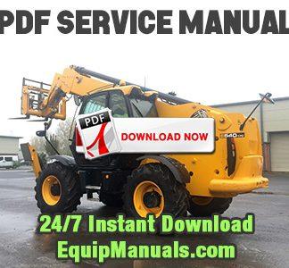 JCB 535, 540, 550 Telehandler Forklift
